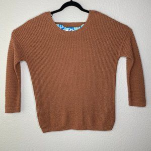 Forever 21 Cable Knit Long Sleeve Pullover Sweater